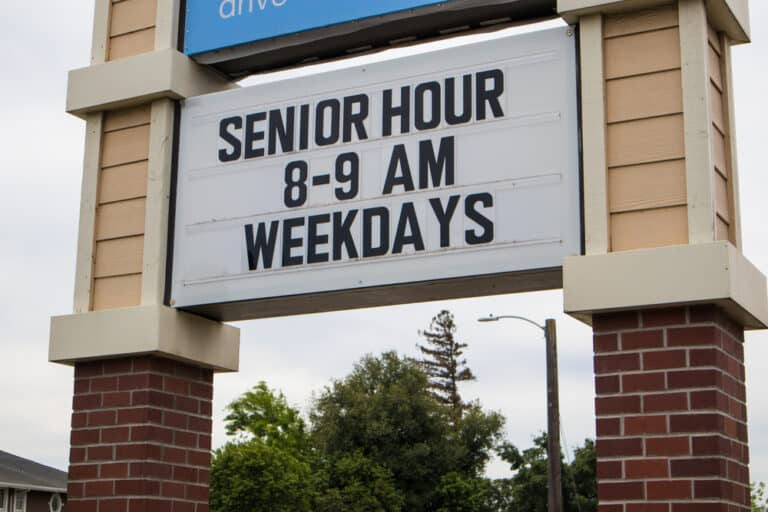 Know More: Stores with Senior Hours