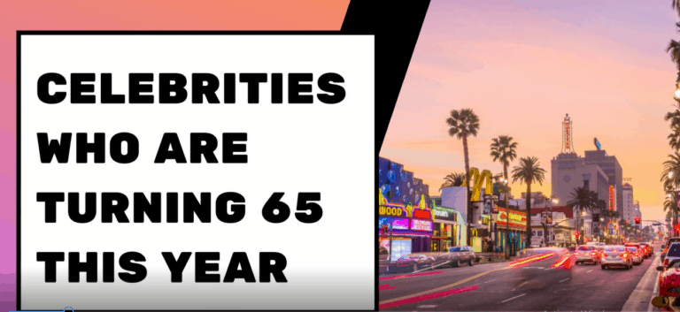 Celebrities Who Are Turning 65 This Year